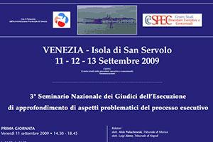 Convegno Sanservolo 2009